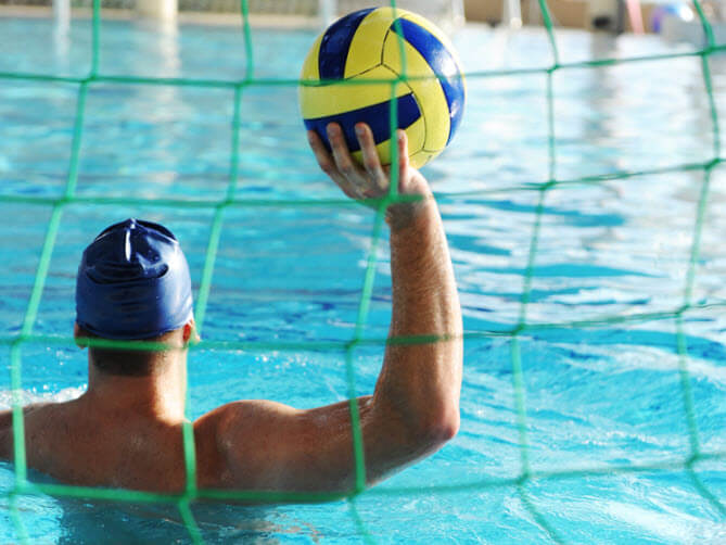 Water Polo Perimeter Netting